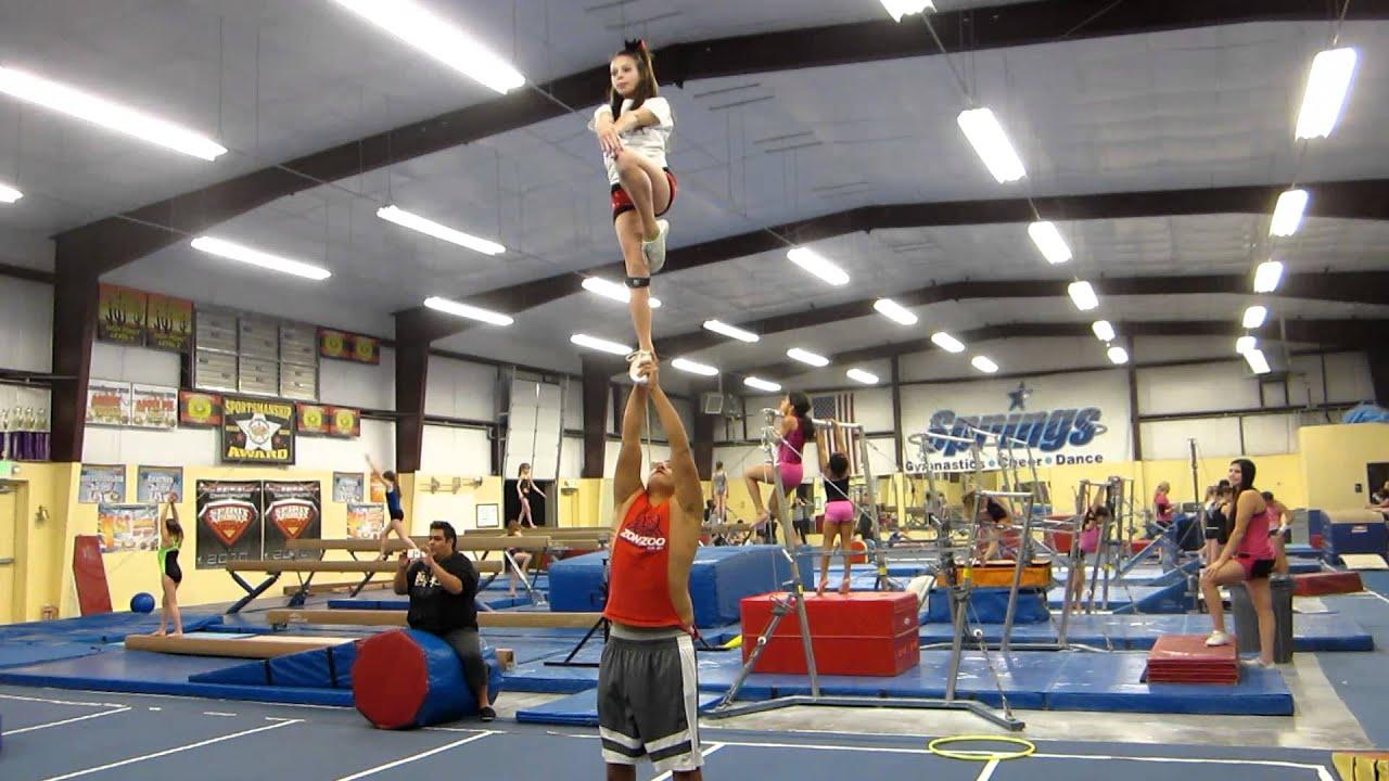 Partner Stunts For Beginners Partner Stunting Beginner