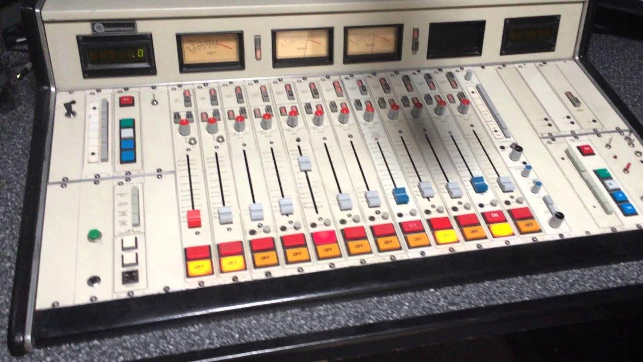 Radio Station Console Radio Console Mixer Board
