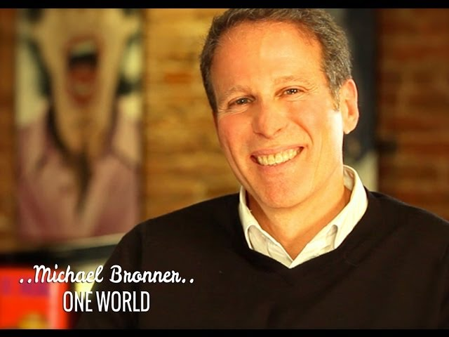 ONE WORLD: Michael Bronner & Deepak Chopra