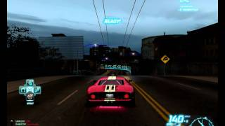 NFS WORLD FORD GT VS DODGE VIPER(SLOW)