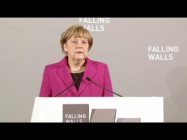"""Merkel: """"On ne pourra jamais nous ôter le désir de liberté"""""""