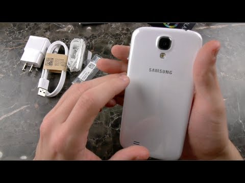 Samsung Galaxy S4 White Unboxing & First Look
