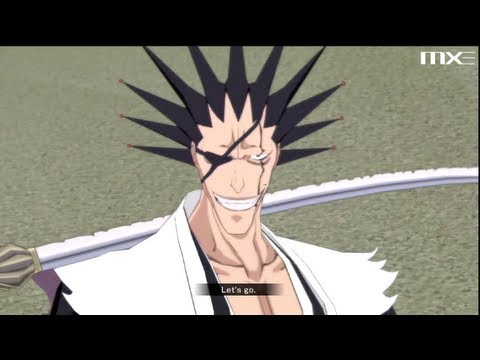 Bleach: Soul Resurreccion - Kenpachi Zaraki Gameplay HD