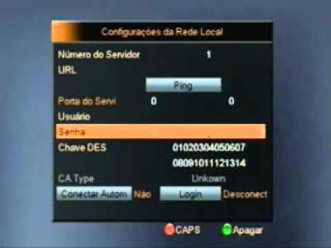 CONFIGURAR SERVIDOR CS NOS APARELHOS  S808.S809.S900. S812 - PASSO A PASSO