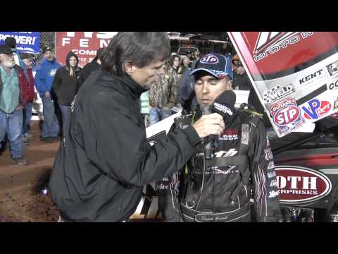 Williams Grove Speedway World of Outlaws Victory Lane 10-04-14
