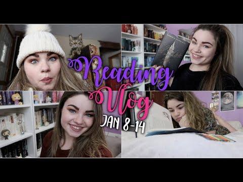 STARTING THE CRUEL PRINCE   Reading Vlog January 8-14