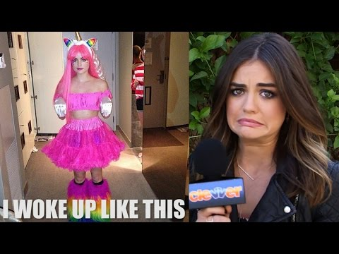 Lucy Hale Creates PLL Memes - Game! - YouTube