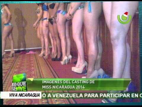 Imágenes del casting de Miss Nicaragua 2014