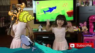 Baby Shark Challenge Dance.