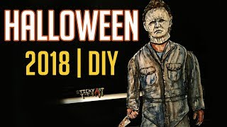 Making Michael Meyers into a Paper Puppet (New Halloween Movie 2018) DIY