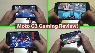 7 Graphics heavy games with Moto G 3rd Generation 2015!