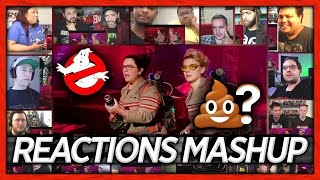 GHOSTBUSTERS Official Trailer #2 Reaction's Mashup | ReactionArmy