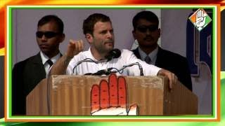 Congress Vice President Rahul Gandhis Address at a Public Rally at Agartala