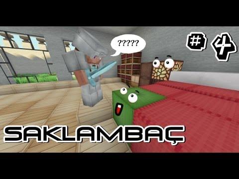 KutsalGörev - Minecraft Saklambaç - Bölüm 4 - Nerdesin Yaprağım?
