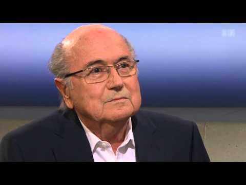 Sepp Blatter in der SRF Rundschau