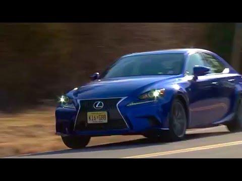 Lexus IS 350 F SPORT 2016 Review