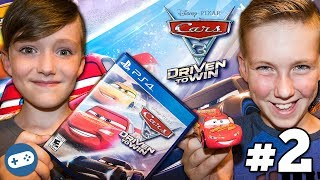 Cars 3 Driven to Win Gameplay Part 2 - Guido VS Mater