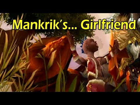 Warlords Of Draenor Beta: Mankrik's... Girlfriend In Nagrand video