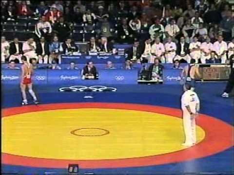 4) Varteres Samurgashev - Akaki Chachua - Olympic Games (Sydney 2000) - Semi Finale
