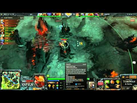 Fnatic EU vs MetaGods - joinDOTA Open - TobiWan