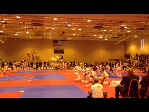 11-9-2013 Demo team performance- Amherst - Master Chong's World Class Tae Kwon Do Image 1