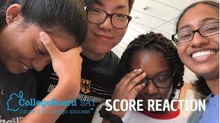 4 SAT SCORE REACTIONS!