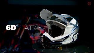 6D ATR-1Y Youth MX Helmet