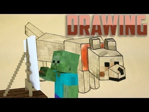 Monster School: Drawing - Minecraft Animation | Cute Drawings