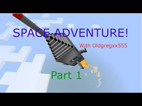 SPACE ADVENTURE PART 1 - SO MANY ORES (Big Dig mod pack)