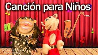 Canción xa xe xi xo xu - El Mono Sílabo - Videos Infantiles - Educación para Niños #