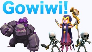 Clash of Clans - TH11 MASS Gowiwi Attacks! BEST TH11 ATTACK STRATEGY!