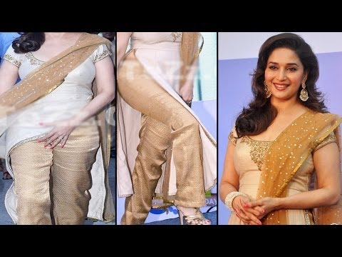 Gorgeous Actress Madhuri Dixit Perform India's First Dance Step For Sanofi India video