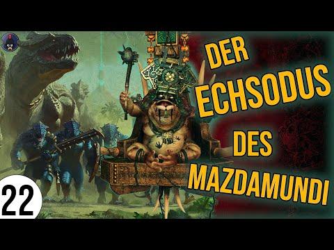 Total War: Warhammer 2   22   Der ECHSODUS des Mazdamundi   Sehr Schwer