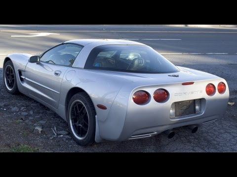 Supercharged Chevrolet Corvette C5 brutal sound