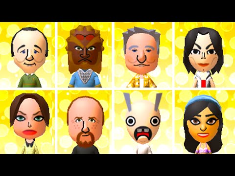 Tons of Tomodachi Life QR Codes! (Collection 2)