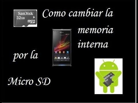 Aumentar la memoria interna cambiandola por la micro SD...[Facil y Seguro]....(Black-Droid)