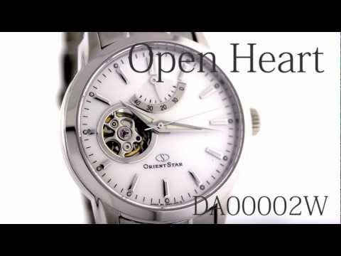 Orientstar Open Heart DA00002W mechanical hand winding movement made in Japan.