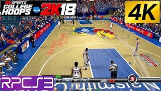 PS3 NCAA College Hoops 2k8 4k on PC 2k18 rosters RPCS3 emulator