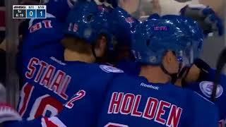 Michael Grabner first goal as a New York Ranger