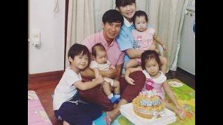 NyORy hát happy birthday chúc mừng sinh nhật ba Lý Hải