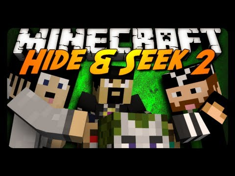 Minecraft Mini-Game: HIDE N' SEEK #2! w/ AntVenom & Friends! – 2MineCraft.com