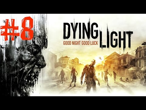 Dying Light. Прохождение. Часть 8 (Ангары) 60fps