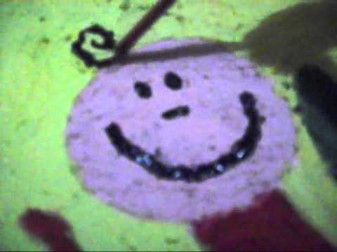 Tecnica Jabón con pintura (Preescolar)