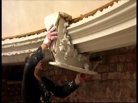Plasterwork in-situ