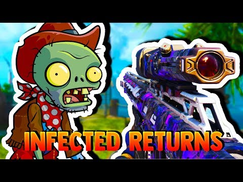 RETURNING TO MY FAVORITE CALL OF DUTY! (infected gamemode)