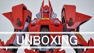 (Unboxing) Robot Spirits Tetsukyojin From  Panzer World Galient