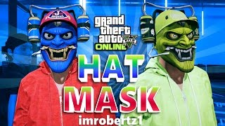 GTA 5 Online - BEST HAT AND MASK GLITCH! Cool Clothing Outfit Glitches! (GTA Online)