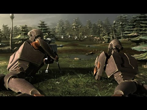 Battle of Endor - The Clone Wars Mod - Ep8- (Star Wars RTS Lets Play)