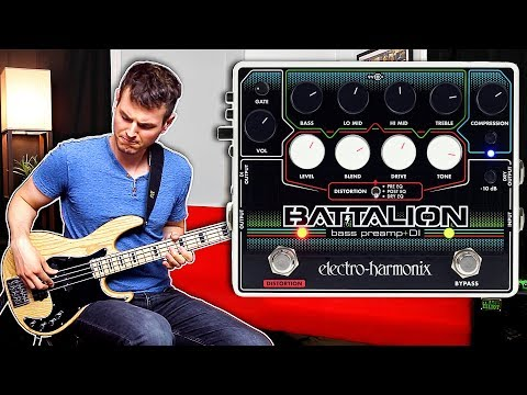 Electro-Harmonix Batallion Bass Preamp and DI | Nathan Navarro Bass Demo
