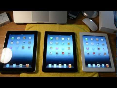 iPad 1. 2. & 3 Comparison!